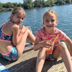 Kinder See Steg