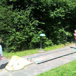 Minigolf an der Sommerrodelbahn
