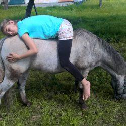 Entspannung am Pony