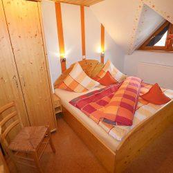 """Schlafzimmer 2 in der Ferienwohnung """"Weizenlaube"""""""